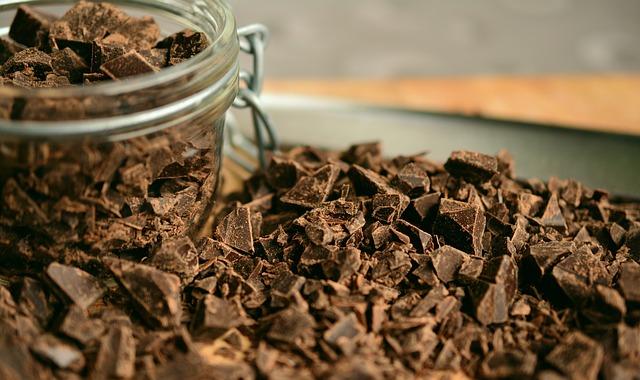 Masque visage au chocolat et au café